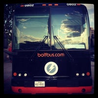 Photo taken at BoltBus Midtown Stop by Randolph H. on 8/8/2014