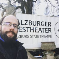 Photo taken at salzburger landestheater by Martin S. on 11/28/2015