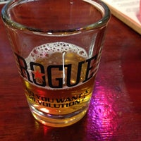 Photo taken at Rogue Ales Brewer's on the Bay by PeaRey on 4/25/2015