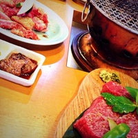 Photo taken at 炭火焼肉 じろう by route280 on 7/27/2014