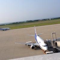 Photo taken at Niigata Airport (KIJ) by 知慧 岩. on 6/25/2015