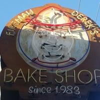 Photo taken at Fireman Derek's Bake Shop & Cafe by Karen on 2/12/2017