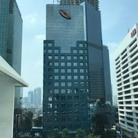 Photo taken at Mayapada Tower Sudirman by Ted on 4/17/2017