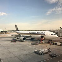 Photo taken at Gate F54 by Ted on 4/7/2017