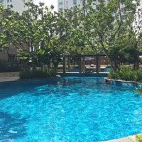 Photo taken at Pool · The Westin Kuala Lumpur 吉隆坡威斯汀酒店 by Ted on 3/15/2016
