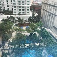 Photo taken at Pool · The Westin Kuala Lumpur 吉隆坡威斯汀酒店 by Ted on 4/8/2017