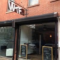 Снимок сделан в WTF Coffee Lab пользователем Matthew 12/18/2012