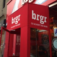 Photo taken at brgr by Matthew on 12/8/2012