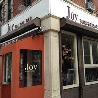 Photo taken at Joy Burger Bar by Matthew on 3/11/2013