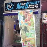 Photo taken at Nine Street Smoothie Bubble Tea by Matthew on 6/23/2013