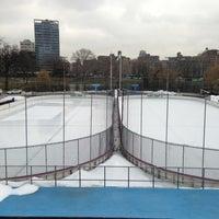 Photo taken at Lasker Pool & Ice Rink by Matthew on 3/11/2013