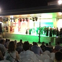 Photo taken at Gümüldür Amfi Tiyatrosu by Mücteba B. on 8/27/2014