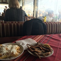 Photo taken at Капаните (The small seafood restaurants by the beach) by SuperTed on 3/6/2016