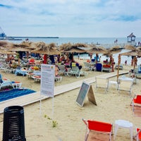 Photo taken at Балчик New Beach by SuperTed on 8/3/2018