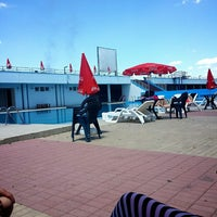 Photo taken at Motrat Binjake Swimming Pool by .. on 6/22/2014