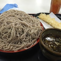Photo taken at そば処 味奈登庵 保土ヶ谷区役所店 by JiNMa on 4/11/2016