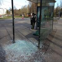 Photo taken at Bussipysäkki 3021 by Citynomadi on 4/30/2014