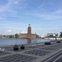 Photo taken at Riddarfjärden by Ann-Sofie L. on 7/28/2018