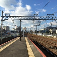 Photo taken at Sumakaihinkōen Station by Kazuhiko M. on 12/17/2016