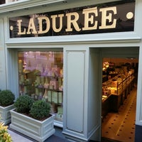 Photo taken at Ladurée by Ayşe F. on 6/22/2013