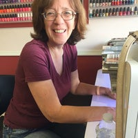 Photo taken at Nancy's Nails by Veronica C. on 4/6/2016