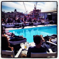 Photo taken at Soho House Rooftop by Steven R. on 4/14/2013
