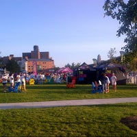 Photo taken at NFTA Metro Rail Erie Canal Harbor Station by Crispin B. on 8/17/2013