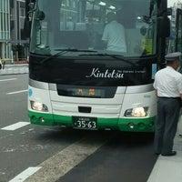Photo taken at 京都駅八条口バス停 by katsu on 5/25/2016