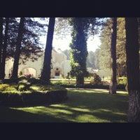 Photo taken at Ex Convento del Desierto de los Leones by Pepe E. on 12/9/2012