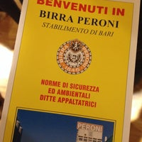 Photo taken at Stabilimento Birra Peroni by Nicola C. on 2/19/2015
