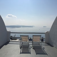 Photo taken at Oia Suites by Avril J. on 11/6/2014