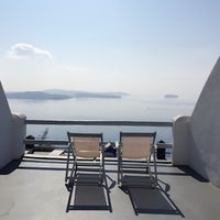 Photo taken at Oia Suites by Avril J. on 11/5/2014