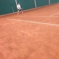 Photo taken at TCM   Tennisclub Merelbeke by Gilles v. on 2/17/2018