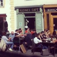 Photo taken at Kleines Café by Karl G. on 10/5/2012