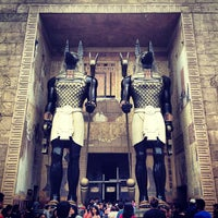 Photo taken at Revenge Of The Mummy by Joanne L. on 5/24/2013