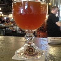 Photo taken at Royal Oak Brewery by Ron A. on 4/20/2013