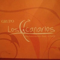 Photo taken at Los Canarios by Elizabeth T. on 10/4/2012