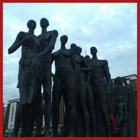 Photo taken at Скульптурная группа «Трагедия народов» by Mikhail_Shishmintsev on 6/18/2013