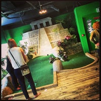 Photo taken at Jungle Rumble Adventure Golf by Ian B. on 7/4/2013
