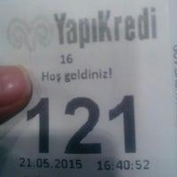 Photo taken at YapıKredi by Figen A. on 5/21/2015
