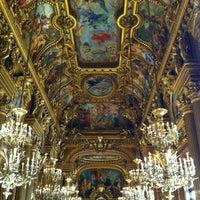 Photo taken at Garnier Opera by Loïc L. on 2/17/2013