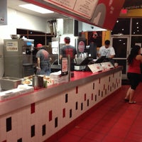 Photo taken at MOOYAH Burgers, Fries & Shakes by Smokinronnie H. on 4/3/2014