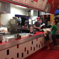 Photo taken at MOOYAH Burgers, Fries & Shakes by Smokinronnie H. on 4/1/2014