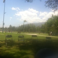 Photo taken at Northside Park by iddybiddyladybug on 5/11/2013