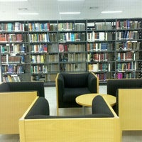 Photo taken at Library & Information Center by Pemy on 11/16/2012
