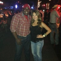 Photo taken at Big Texas Dance Hall & Saloon by Amber T. on 8/15/2013
