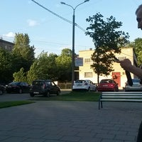 Photo taken at Сквер на Алымова by Keith R. on 6/20/2014