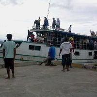 Photo taken at Pelabuhan Tulehu by Dhika P. on 1/4/2013