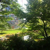 Photo taken at Mohri Garden by Akihiro N. on 5/26/2013