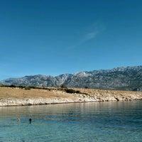 Photo taken at Plaža pored Vinjerca by MaTiCeK on 8/4/2016